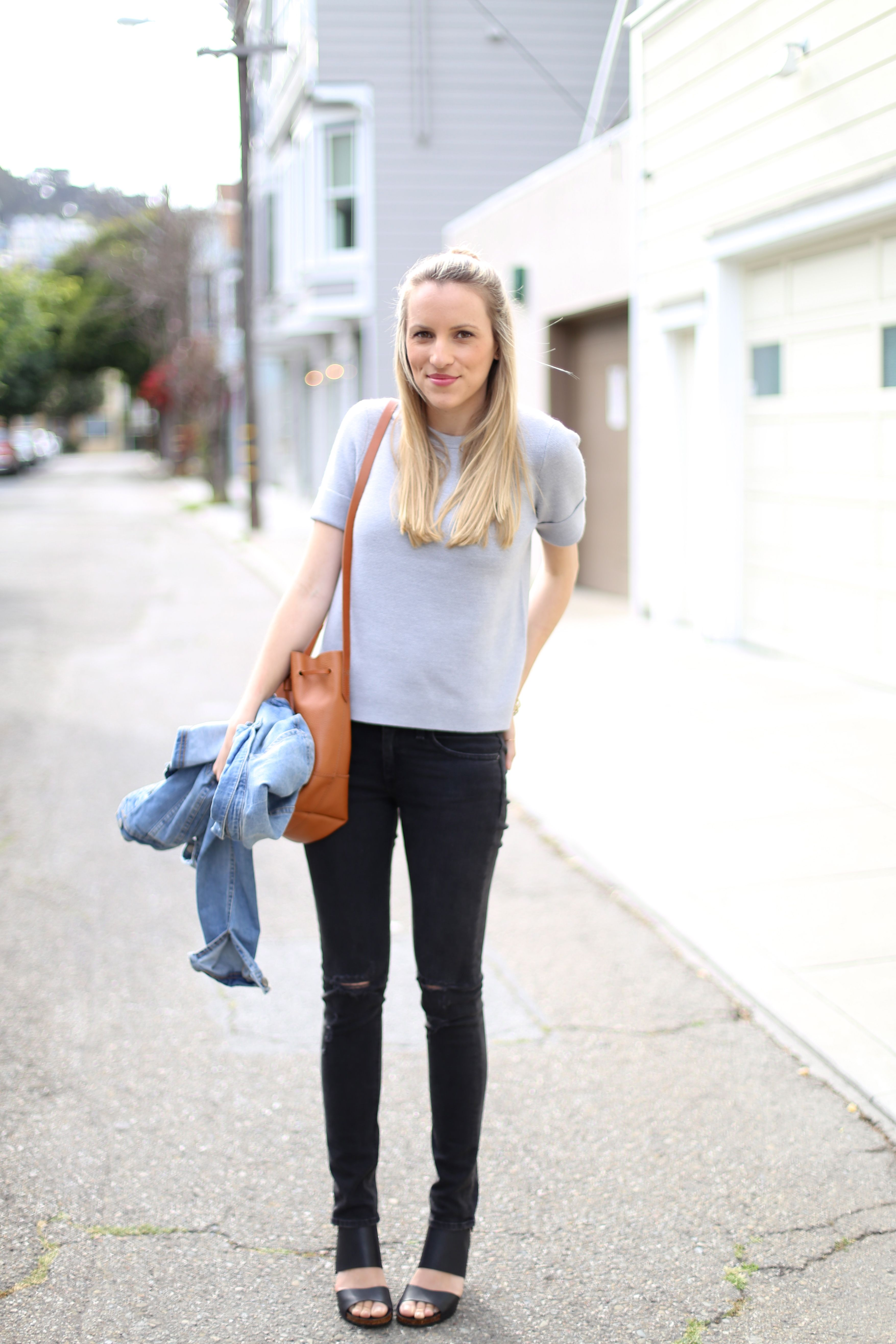 Short-Sleeve Sweater I Adorned With Love | STYLE | My Outfits ...