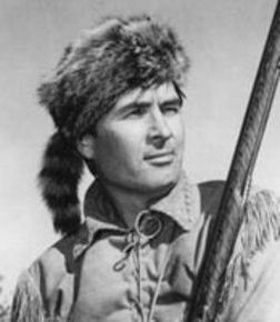 Fess Parker in The Alamo.Davy Davy Crocket,king of the wild frontier