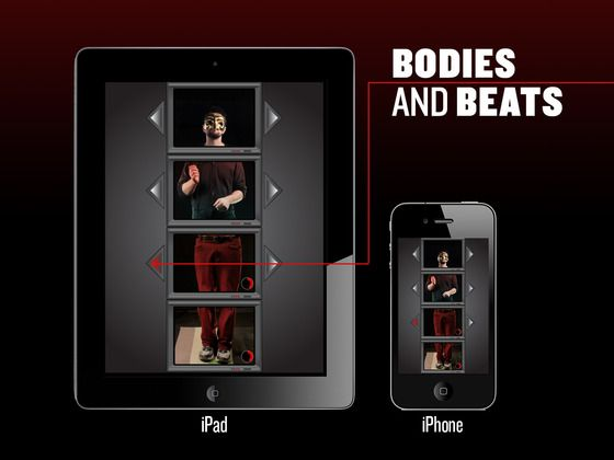 Bodies and Beats iOS App for iPhone & iPad by Martin