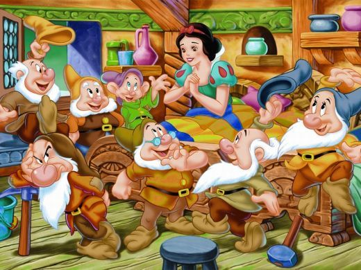 Day Of Snow White And The Seven Dwarfs  Cartoons -7477