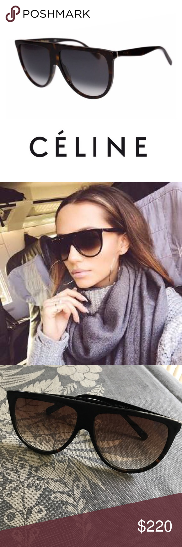 e8efa0bd66 You will love this fine frame   slightly retro vibe. Celine Sunglasses are  the epitome of style ...