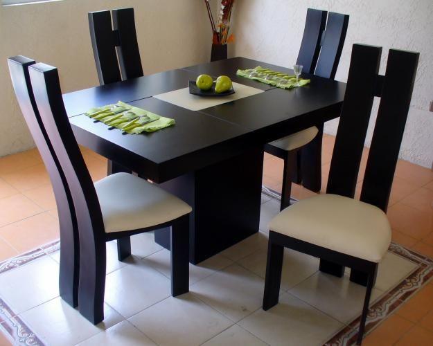 Antecomedor mesas pinterest comedores estilo for Disenos de comedores de madera