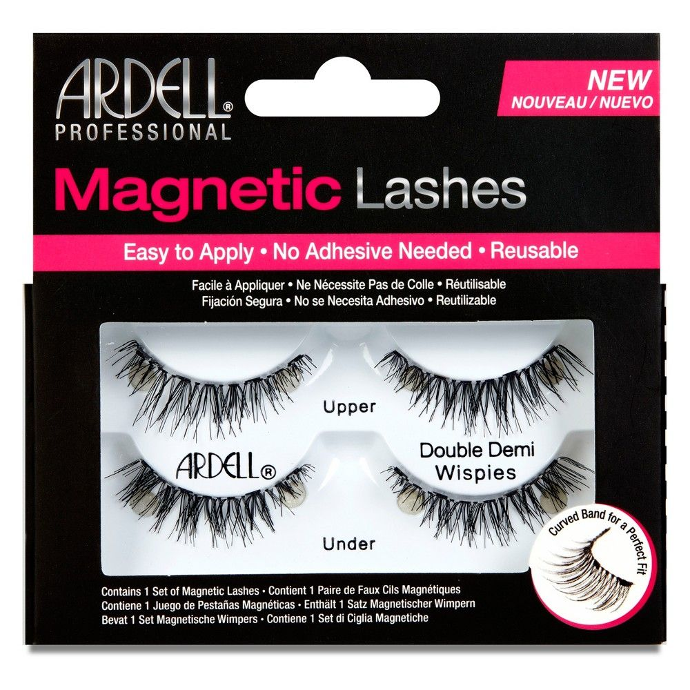 b1597ece01a Ardell Double Demi Wispies Magnetic Eyelashes Black - 1pr | Products ...