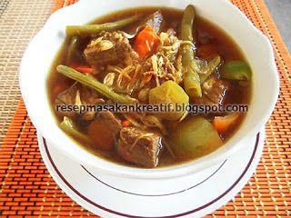 Resep Asem Asem Daging Sapi Dan Buncis Resep Resep Masakan Indonesia Resep Masakan