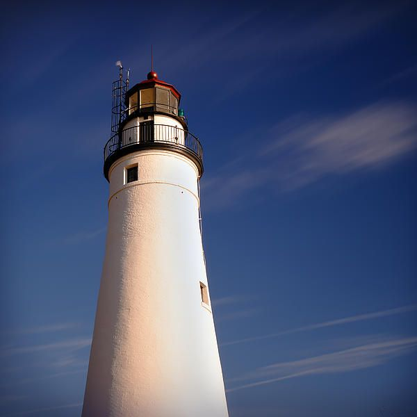Fort Gratiot Lighthouse In Port Huron