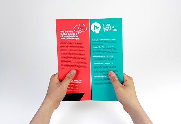 Promotional Brochure For The ChildrenS Creativity Museum In Sf