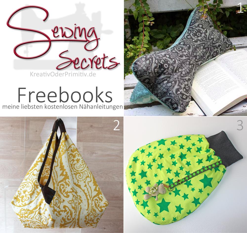 Freebooks, kostenlose Nähanleitung, empfehlung, selber machen ...