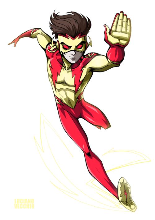 'New 52' Kid Flash - Luciano Vecchio | Kid Flash / Impulse ...