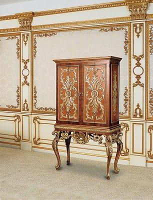 Antique Bar Cabinet 1750 Rococo Style Rococo Furniture Rococo Decor French Rococo