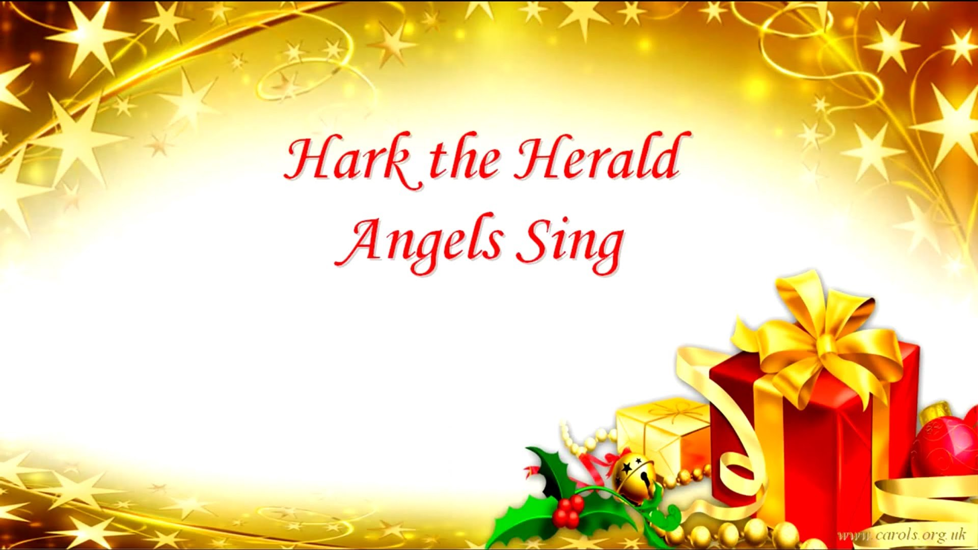 HARK THE HERALD ANGELS SING Lyrics | Christmas music | Pinterest ...