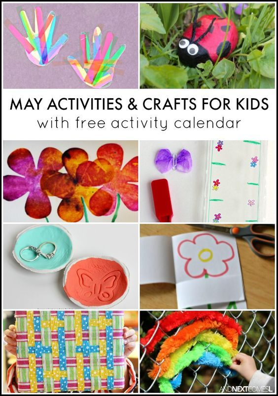 31 May Activities for Kids {Free Activity Calendar} Spring - activity calendar