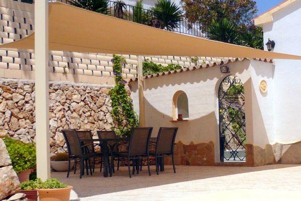 Terrassen » Vorteile der Sonnensegel für Terrasse- dekorative