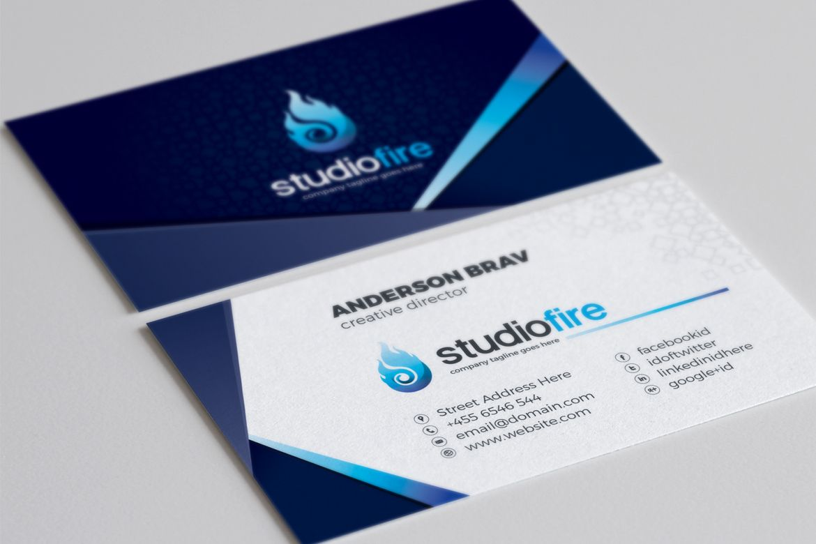 Business Card Corporate Identity Template 67489 Business Cards Corporate Identity Corporate Identity Business Cards
