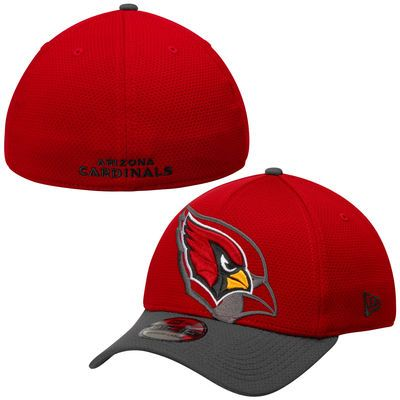 buy online 643c8 bd3ac New Era Arizona Cardinals Cardinal Shadow Tech 39THIRTY Flex Hat