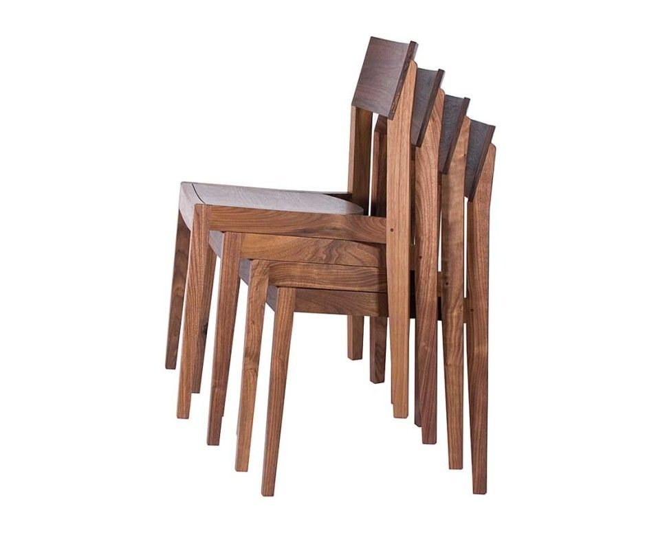 FurnitureGarden Furniture Wood Wooden Hardwoon Klamath Stacking Chair The Joinery Portland Oregon Lovely Garden