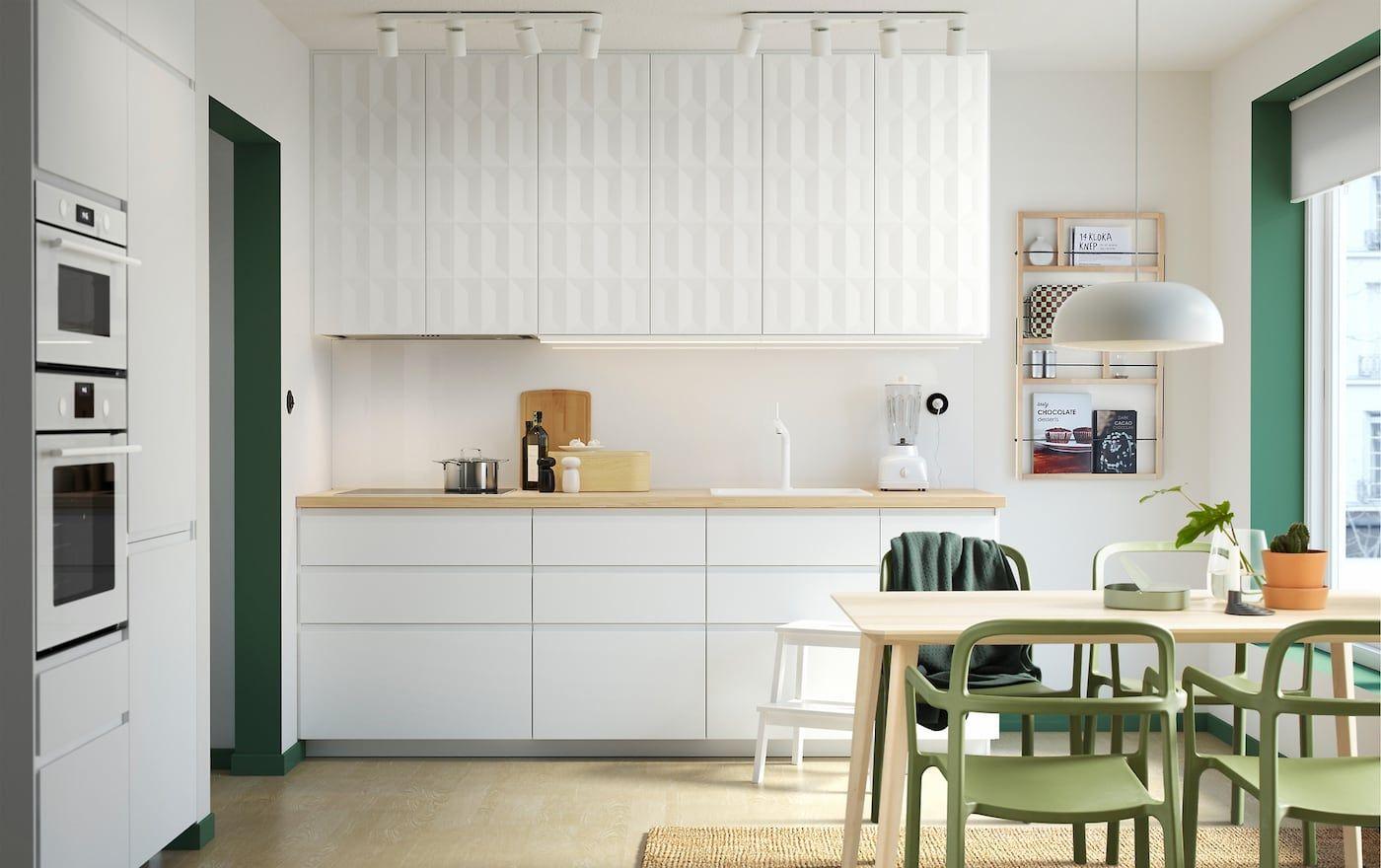Bousculez Les Choses A La Mode Scandinave Voxtorp Ikea Facade Cuisine Cuisine Moderne