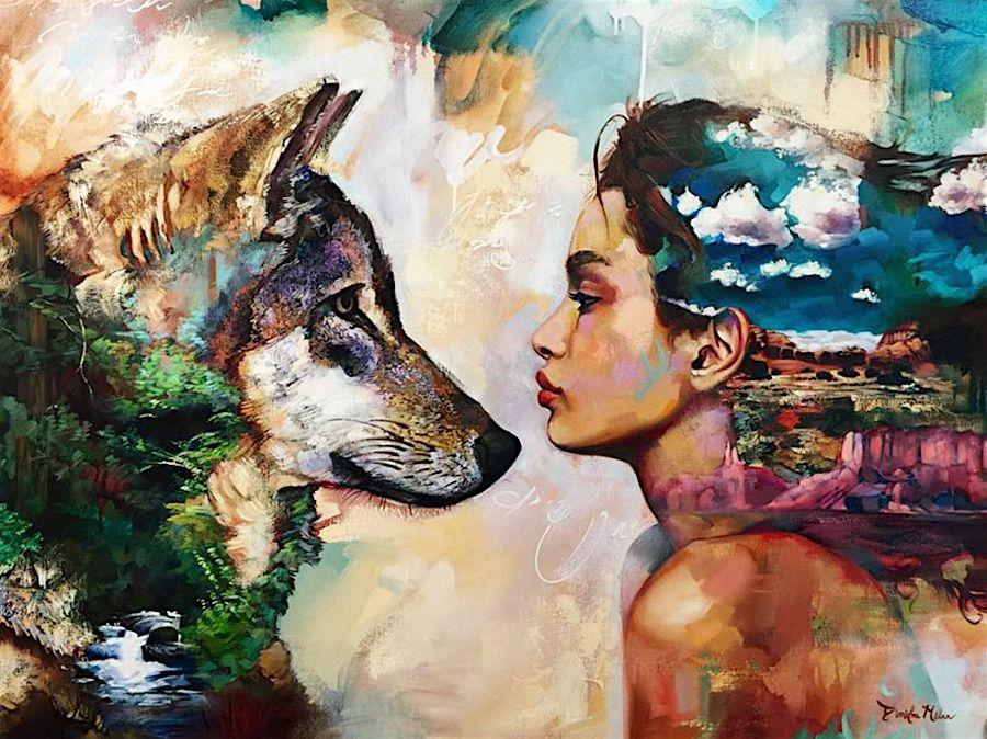 Bemerkenswerte Kunstlerin 16 Jahrige Begeistert Mit Ihrer Malerei