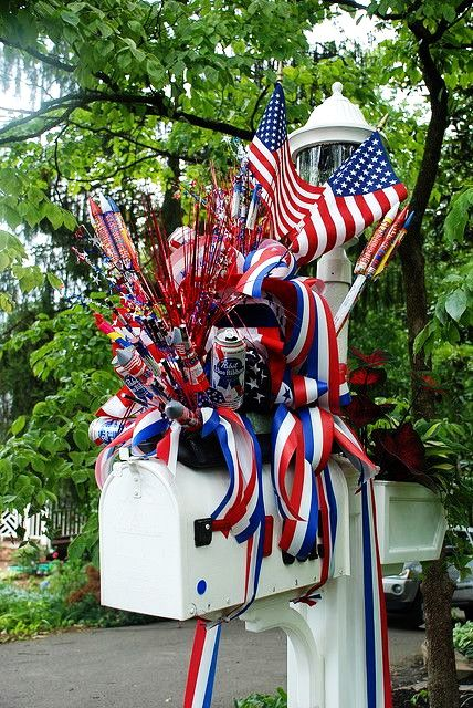 16 Garden Decor Idea For July 4th Day U2013 DIY Easy Patriotic Backyard Craft  Project