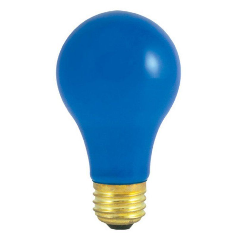 Bulbrite Ceramic Standard Incandescent Light Bulb 30 Pk Blue Bulb830 2 Blue Light Bulb Light Bulb Bulb