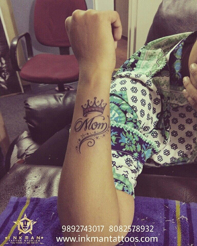 Mom Tattoo Mother Tattoo Mother Tattoos Thane Mumbai Navi Mumbai Dombivli Airoli Tattoo Artist Tattoo Forearm Tattoos Tattoos Tattoos For Kids
