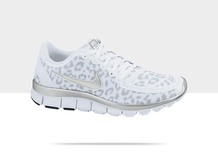 Nike Free Run Guépards Blanc