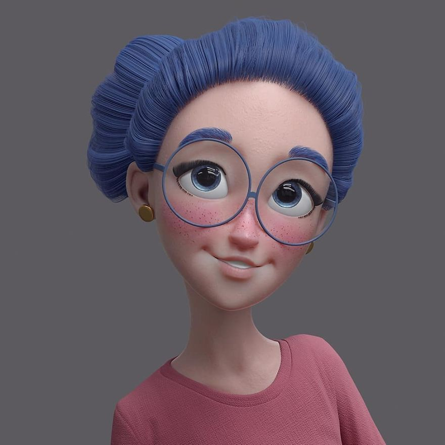 Artist Who Has Worked With Dreamworks Turns Famous People And Characters Into Cartoons 3d Model Character Character Design Animation 3d Character