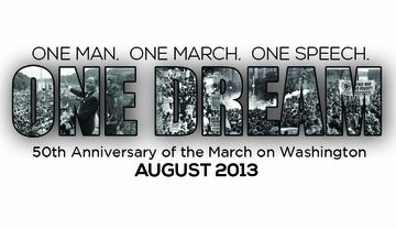 One Dream March On Washington Anniversary Commemorative Poster