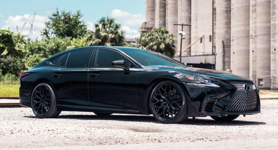 Fifth Gen Lexus Ls Can Rock A Dark Theme As Well As Any Car All