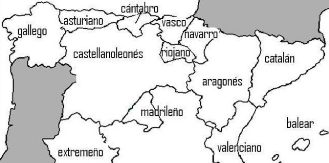 Gentilicios De España Gentilicios Provincias España Comunidades Autonomas De Espana