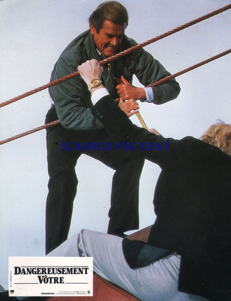 Details About James Bond A View To A Kill Orig French Photo Roger