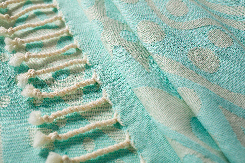 Mint Beach Towel Xl Beach Towel 100 Organic Cotton Best Etsy In 2020 Beach Towel Mint Beach Towel Cotton Towels