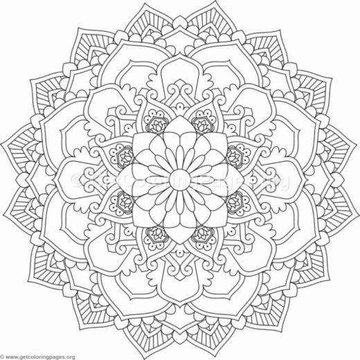 Flower Mandala – Page 2 – GetColoringPages.org | MANDALA ...