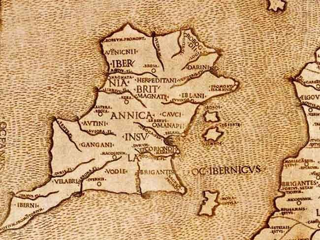 Have You Seen The First Known Map Of Ireland From 140ad Ancient Ireland Ireland History Ireland Map