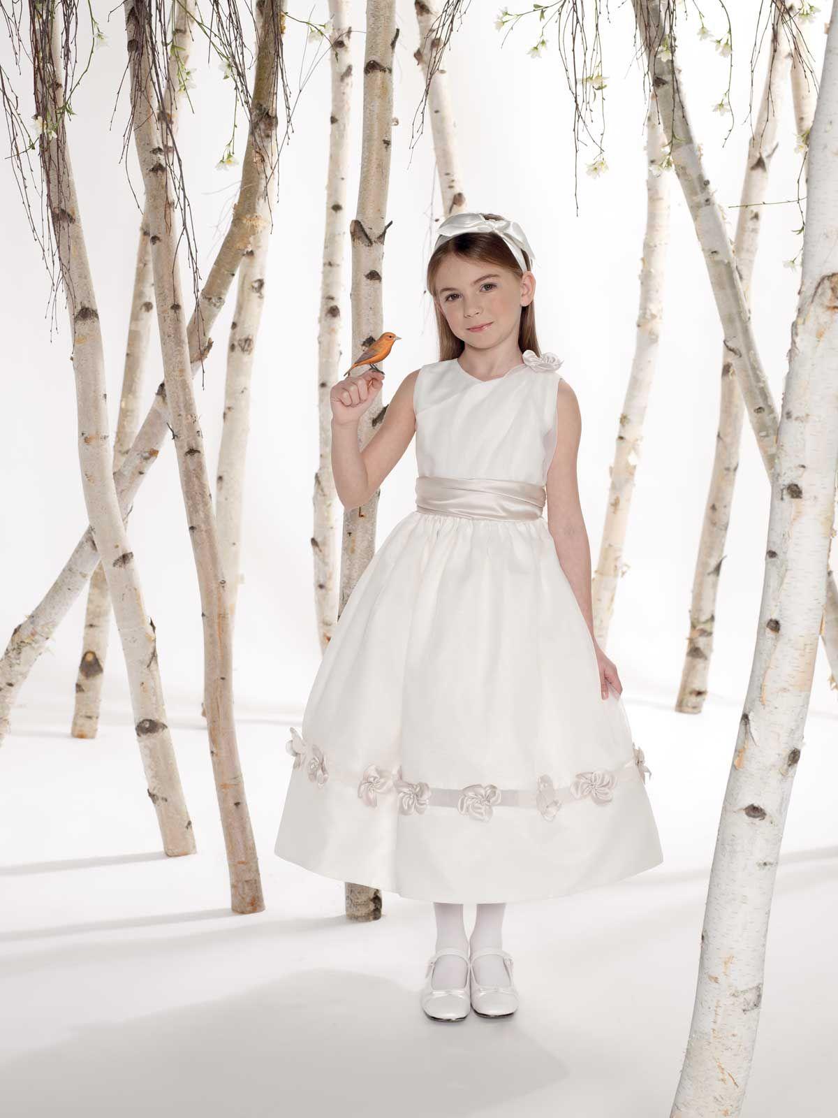 Option for lizzie wedding ideas pinterest flowergirl dress