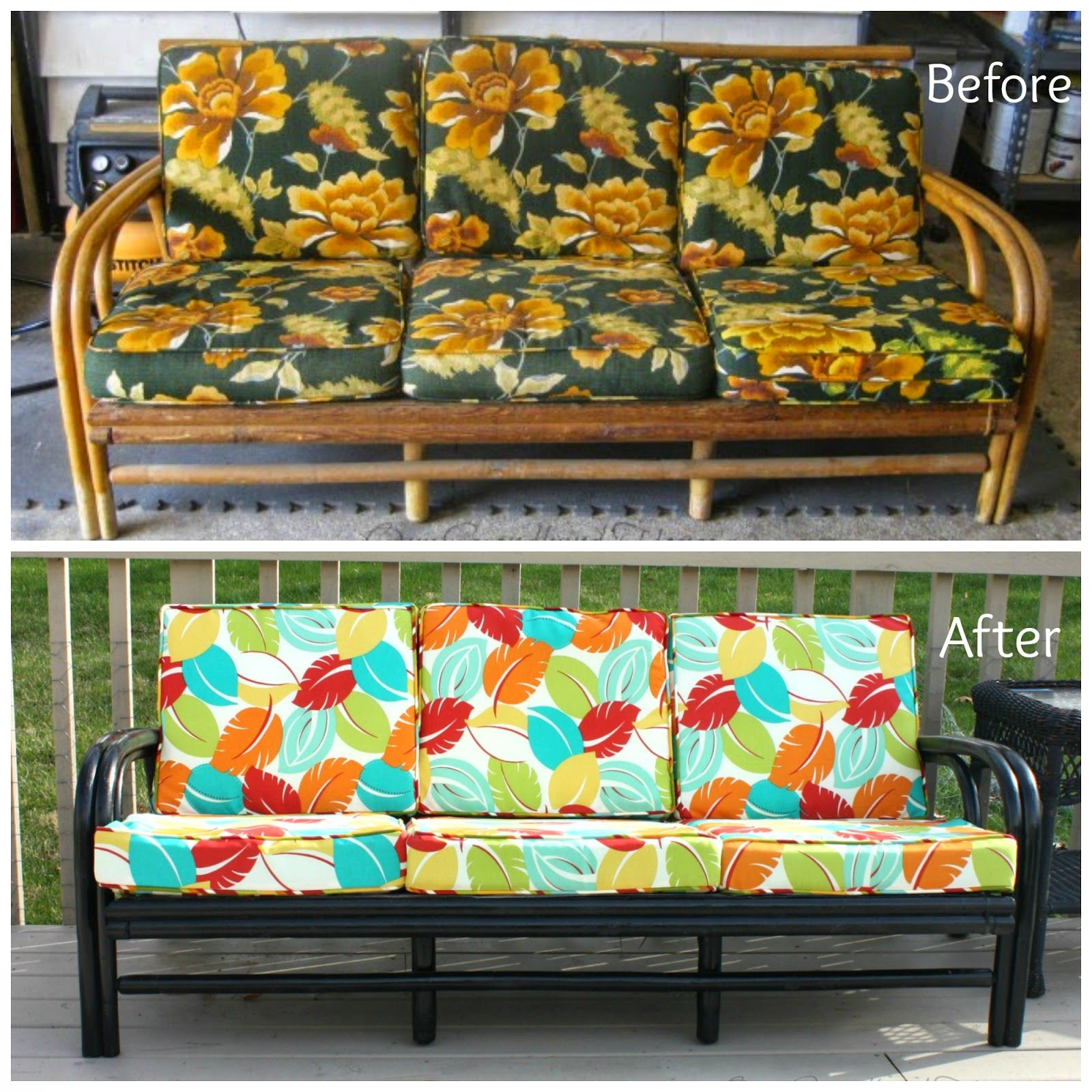 Rattan Sofa Near Me Our Secondhand House Thrift Store Rattan Sofa Makeover To Remind