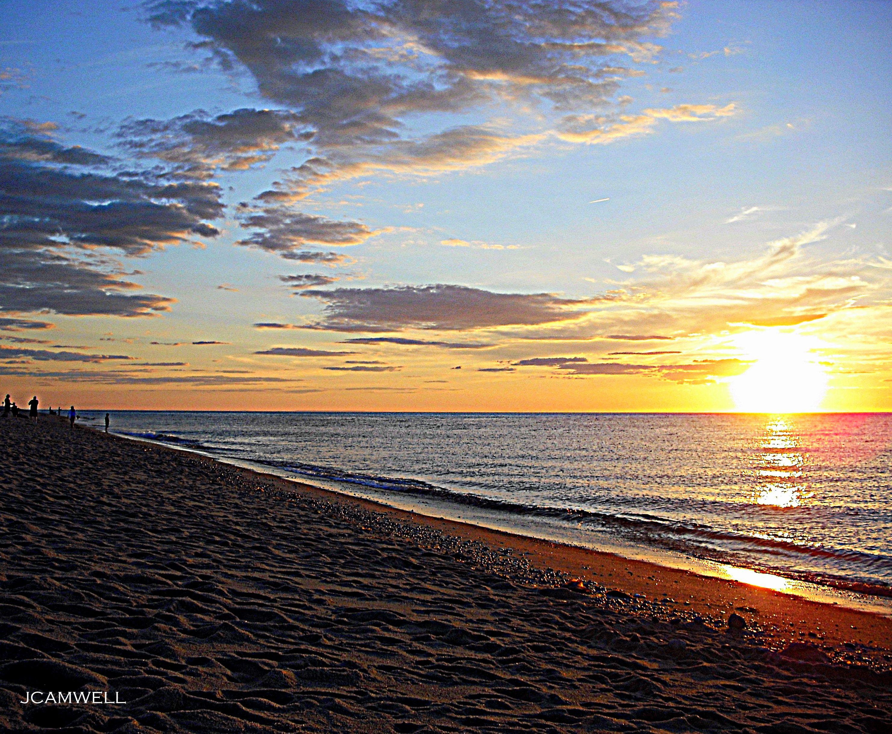 a summer sunset on a cape cod beach Cape cod beaches