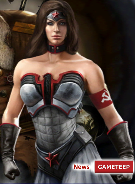 injustice gods red son wonder woman video games