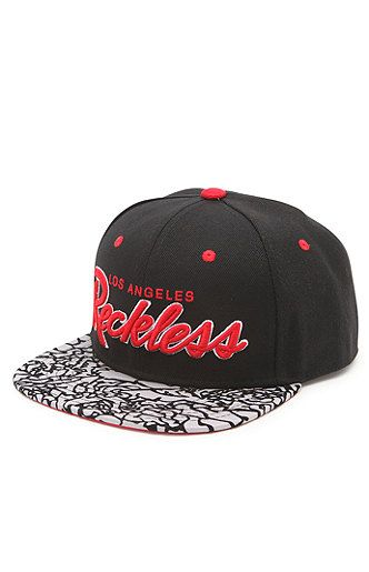 competitive price 449b2 0d2b1 Young   Reckless OG Reckless Crackle Snapback