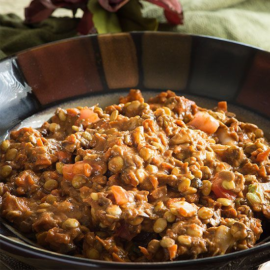 This delicious raw, vegan chili is sure to become a favorite at your house. It is at our house! You won't believe how hearty it is. Sprouted lentils are great!