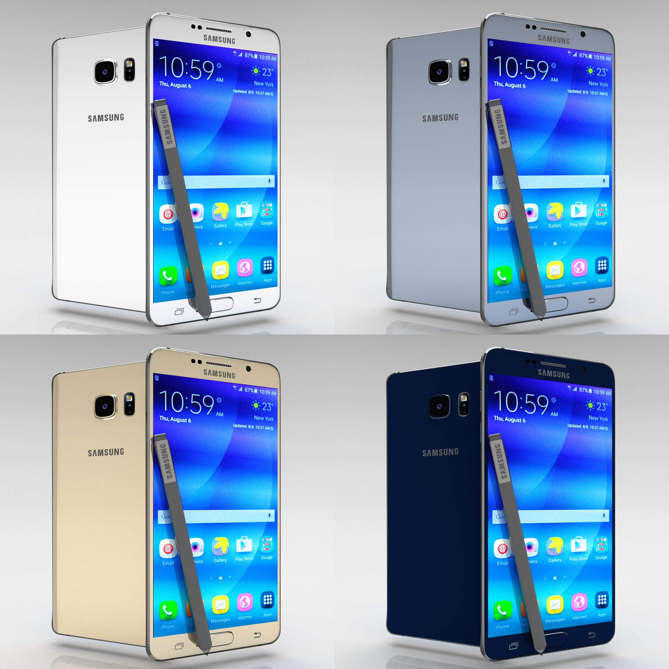 Samsung Galaxy Note 5 All Color Pack Samsung Galaxy Galaxy Note 5 Samsung Galaxy Note