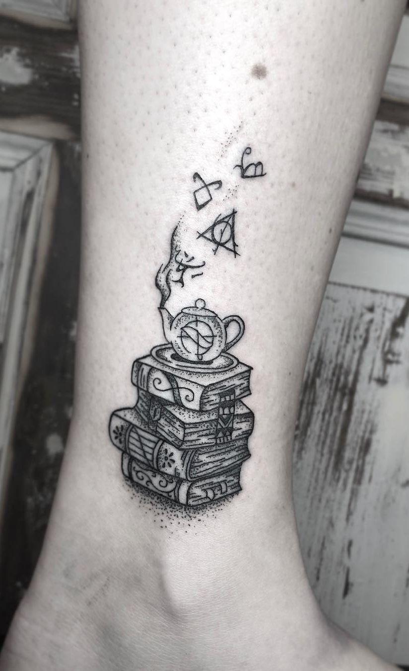 Awe Inspiring Book Tattoos For Literature Lovers Bookish Tattoos Book Tattoo Tattoos For Lovers