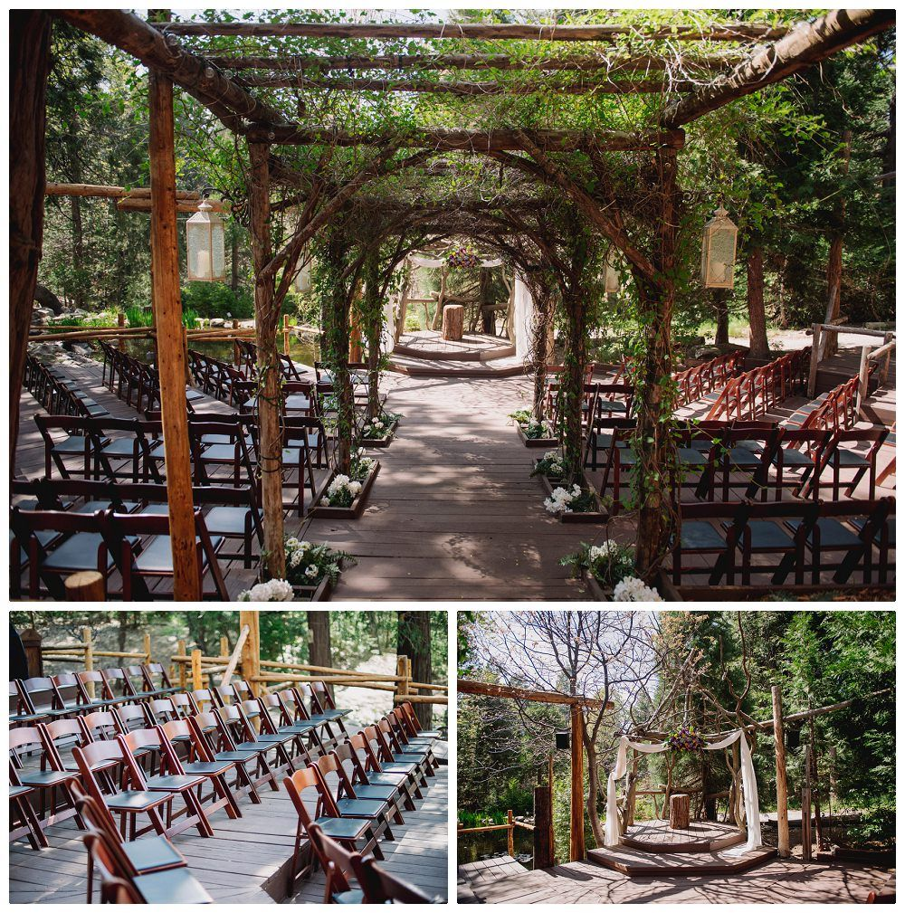 The Only Thing That S Missing Is You Saying Your I Dos At Hidden Creek Southern California Wedding Venue Under Canopy Of Forest