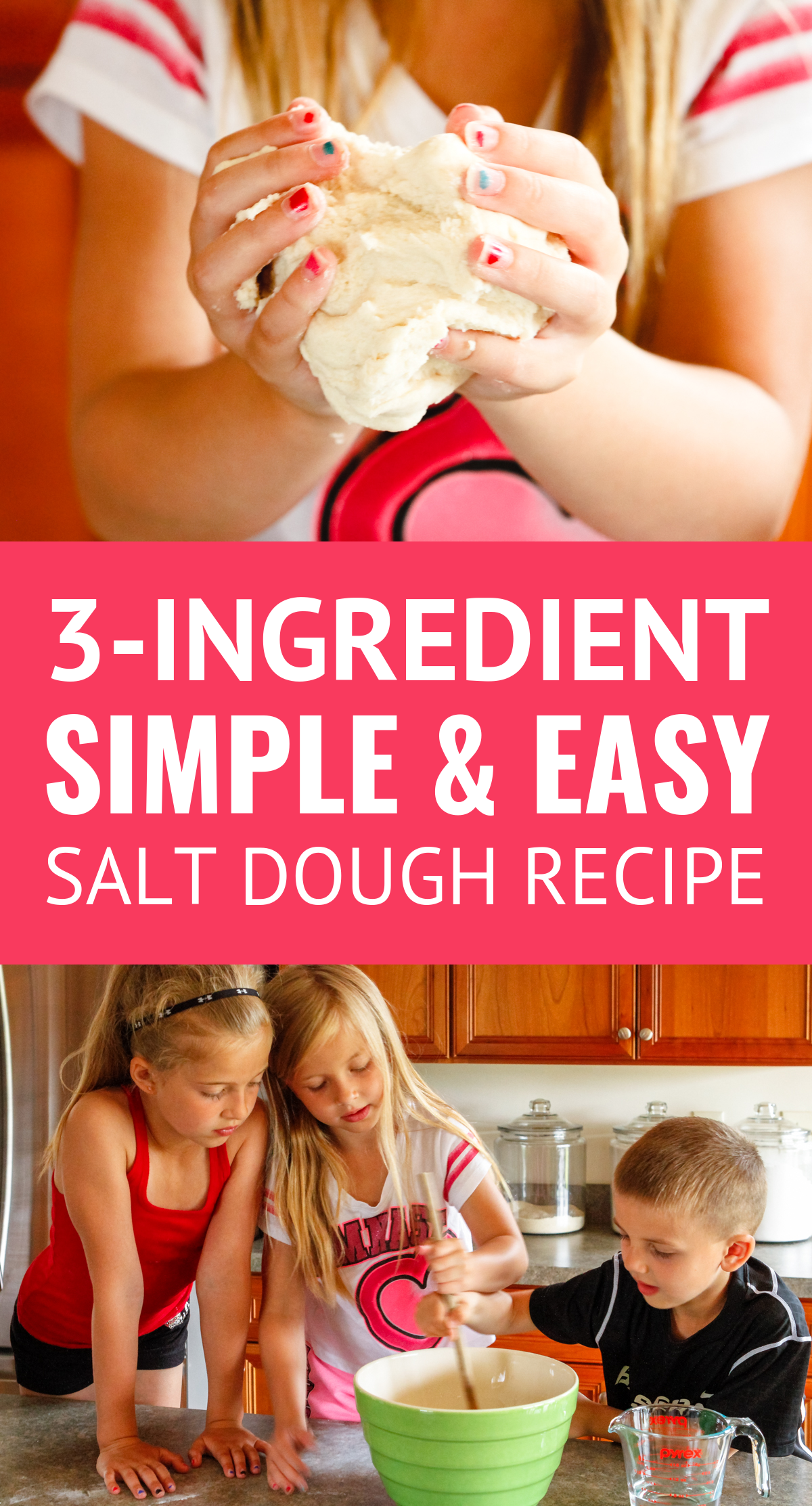 Easy Salt Dough Recipe for Kids (3 Ingredients!) – Unsophisticook