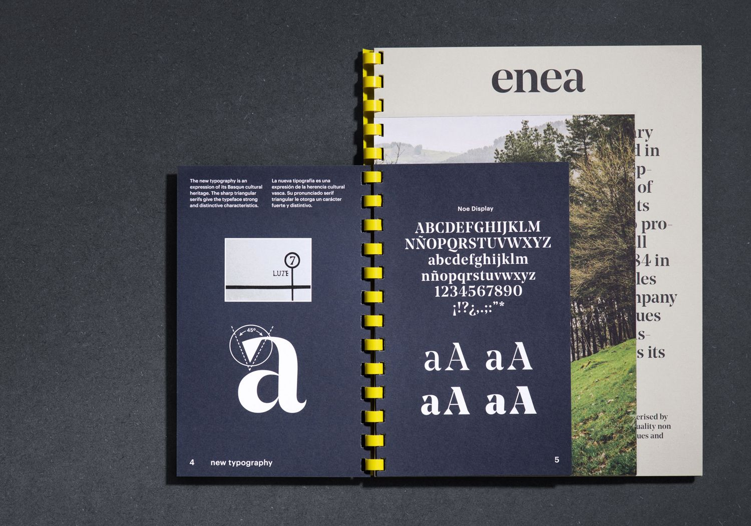 New Brand Identity for Enea by Clase bcn — BP&O | Pinterest | Print ...