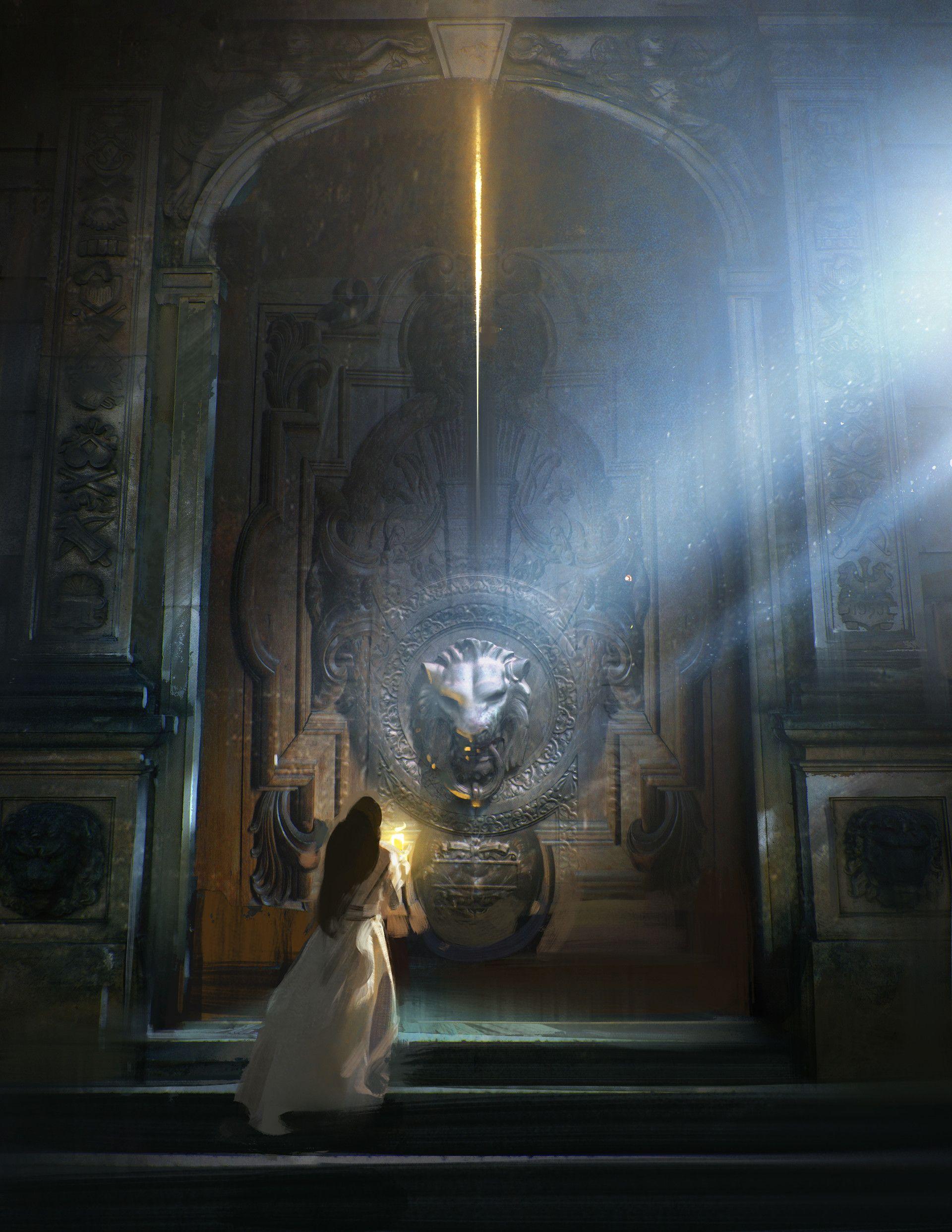 ArtStation - 미녀와 야수, Jama Jurabaev