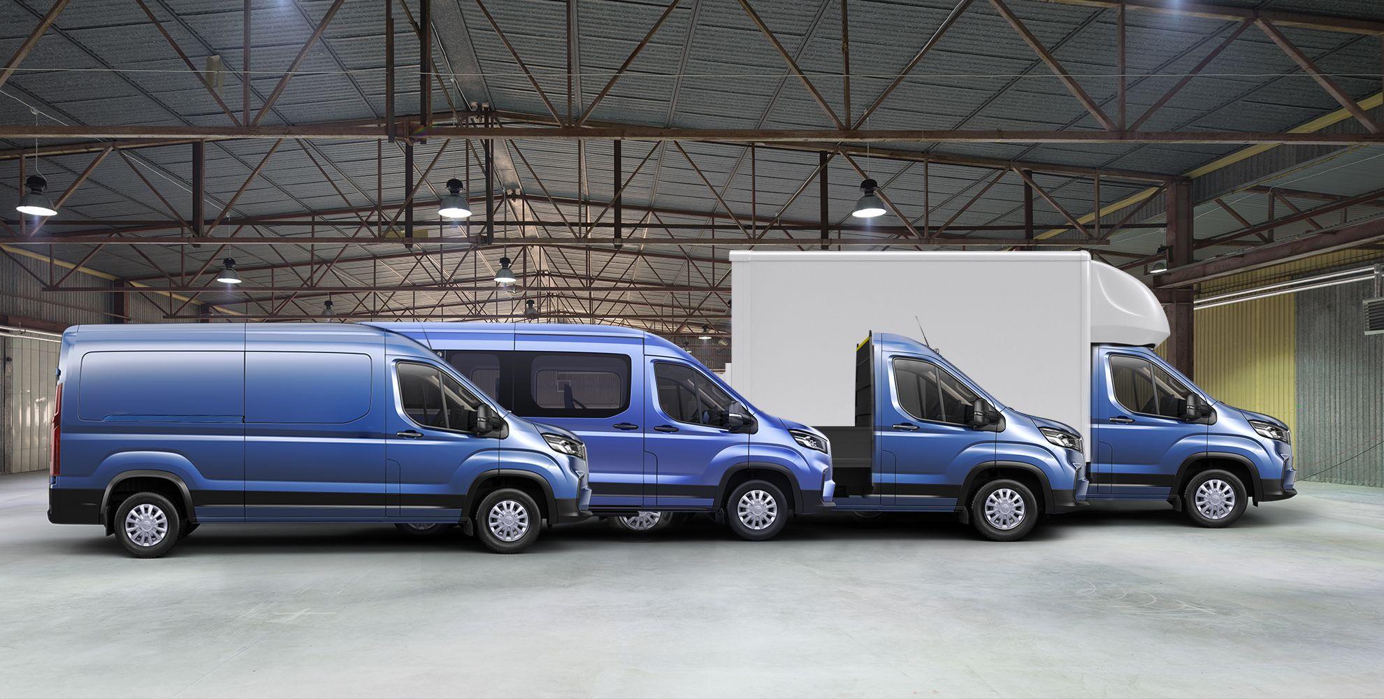 LDV Fleet Vehicles