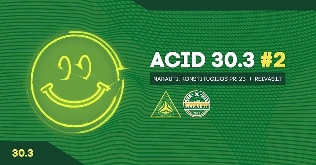 acid #techno #party #Vilnius #303 #acidcore #acidhouse #acidtechno