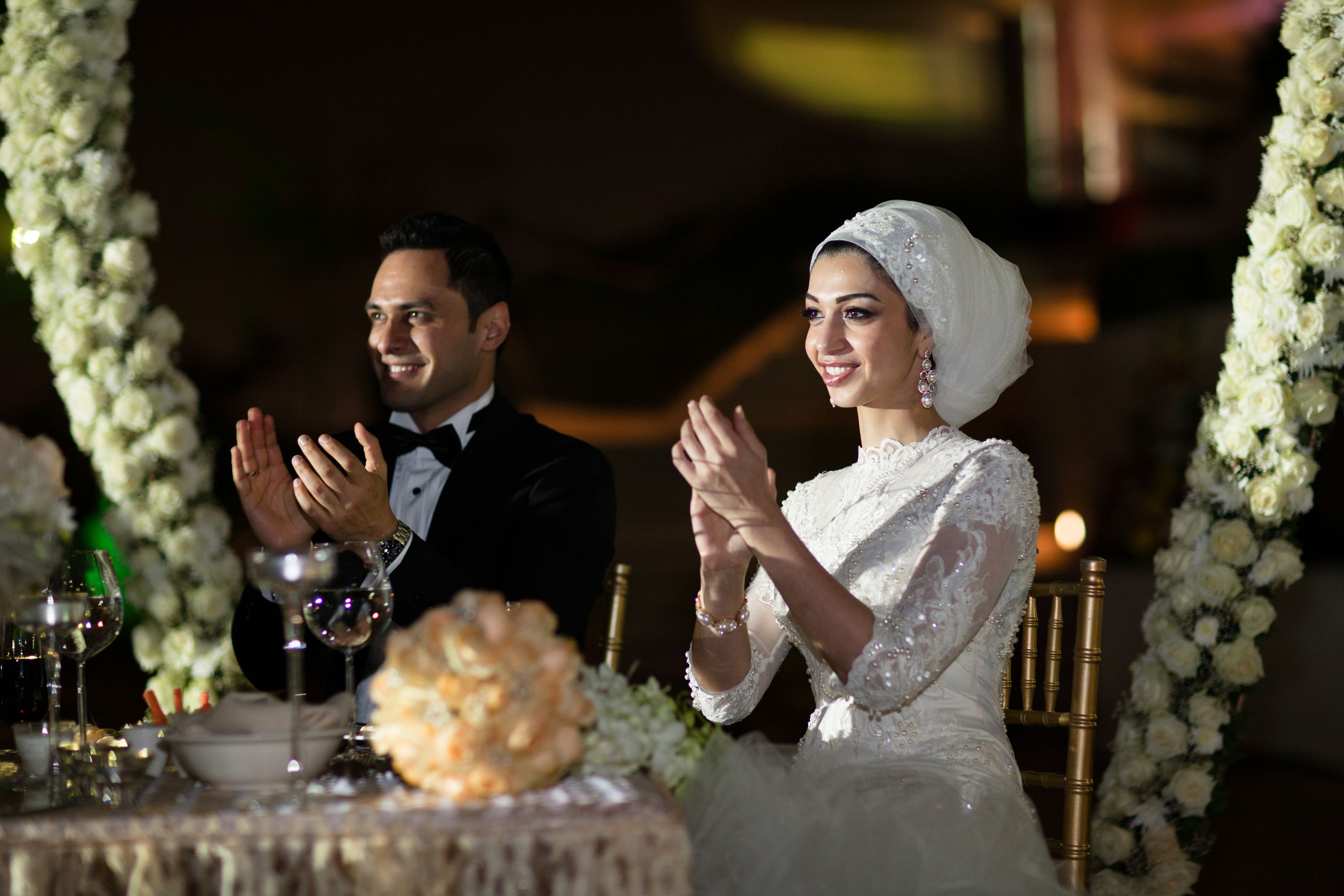 Bridal Headscarf Veil Inspiration Hijab bride modest bride Perfect Muslim Wedding