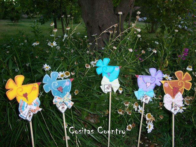 Pajaritos Tutores Para Plantas Little Birdie