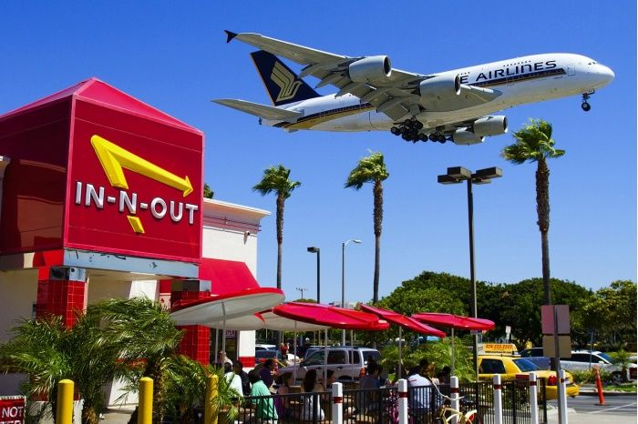 A380 Lax Two Of My Favorite Things Flying And In N Out